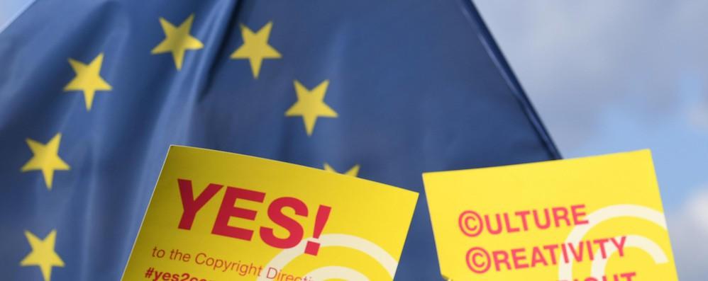 L'Eurocamera approva la riforma sul copyright