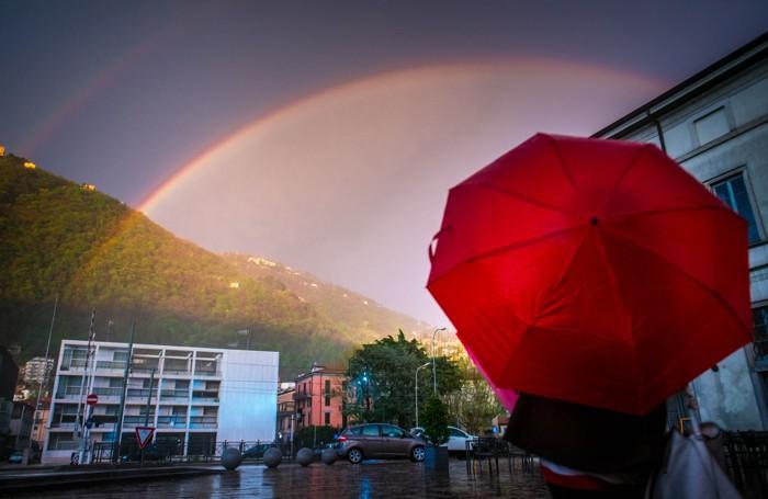 Como arcobaleno