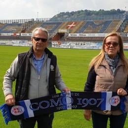 Una coppia di Fino unita dal Como  «Prima ultras, poi steward»