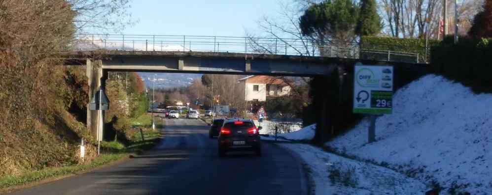 Caccivio, ponte da sistemare  La provinciale chiude tre giorni
