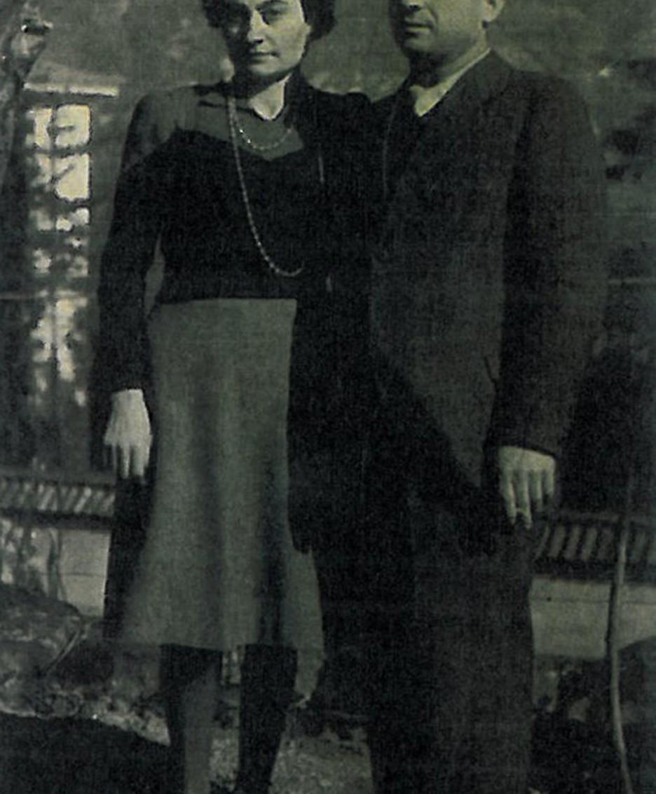 Anna Signori e Salvatore Galetti  nel 1943