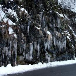 Si gela, temperature in picchiata  Lunedì 11 colonnina fino a -17