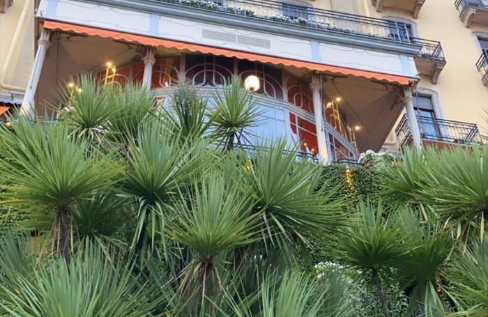 Afrojack in una stories di instagram ha postato un bel primo piano del Grand Hotel Tremezzo