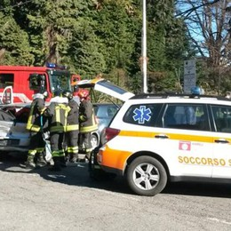 Due incidenti in un'ora Soccorritori a Olgiate