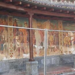 Affreschi da salvare  al centro Medioevo