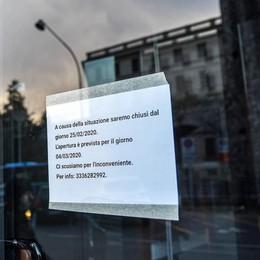 Coronavirus:  Chiudono le attività cinesi  Anche i centri massaggi