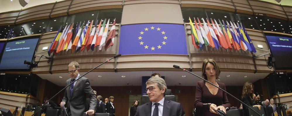 Sassoli annuncia plenaria del Parlamento Ue il 26 marzo a Bruxelles
