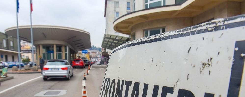"""Coronavirus e """"zona rossa""""  Per ora niente disposizioni  per i frontalieri"""