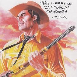 Lomazzo, il papà di Tex Willer  «In quarantena da una vita»