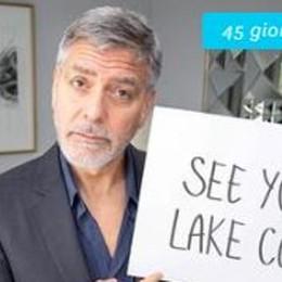 Clooney non scorda Laglio  Soldi agli ospedali lombardi