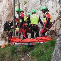Pigra, trovato morto l'escursionista  È precipitato dal sentiero