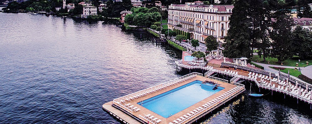 Fiducia Villa d'Este  Riparte il turismo  sul lago di Como