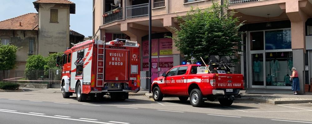 Mariano, urta e rompe tubo del gas  Allarme in condominio del centro