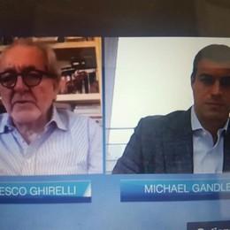 Como, Ghirelli ospite di Gandler Strizzata d'occhio in salsa Usa