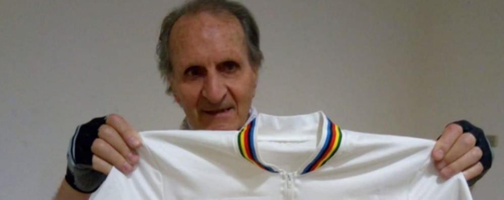"""Dotti e il """"miracolo"""" del Ghisallo Trovata la maglia di Bassano '85"""