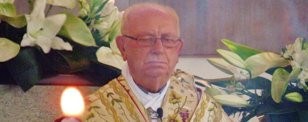 Addio a monsignor Bernasconi  Fu parroco di Fino per 17 anni