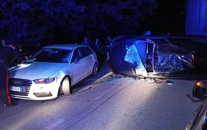 Incidenti a Blevio e Albese con Cassano  Auto ribaltate, cinque i feriti in ospedale