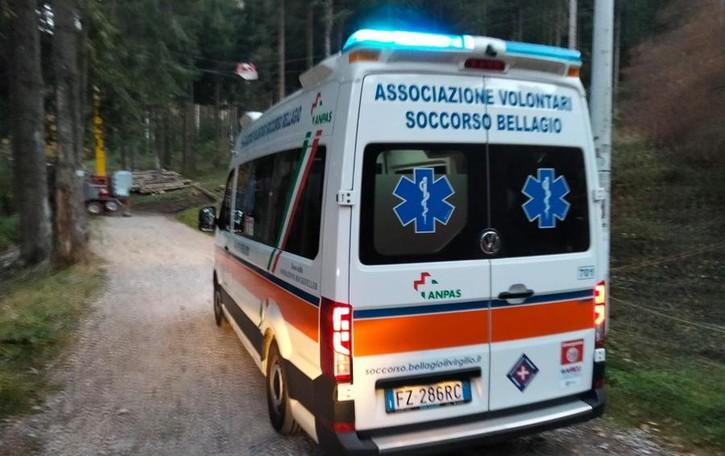 Lezzeno, escursionista indiana ferita mentre scende dal San Primo