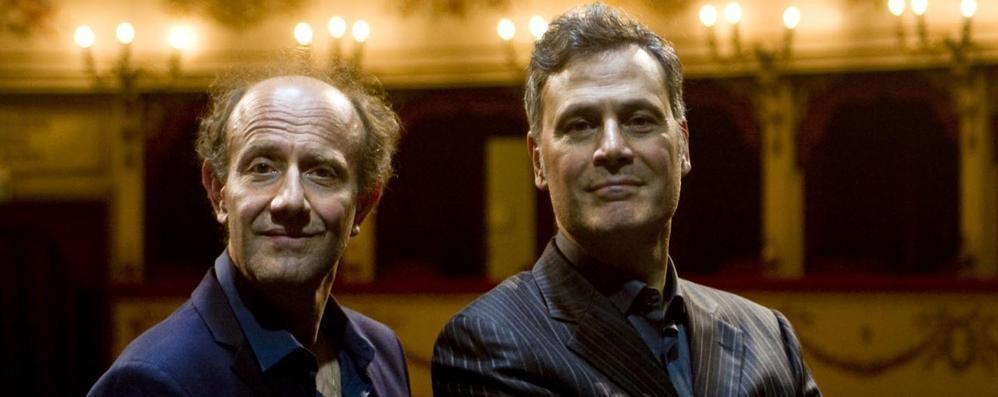 Stagione teatrale con grandi nomi  Ale e Franz tra i protagonisti a Canzo