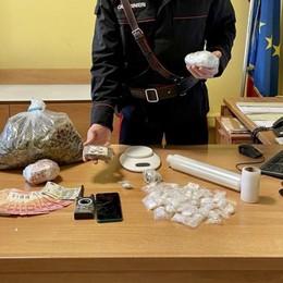 Cantù, droga in officina  Arrestati titolare e cliente