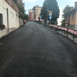 Centro Valle Intelvi, il rally porta l'asfalto  Quattro chilometri di strada come nuovi