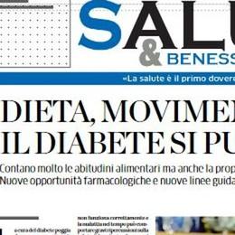 """Dieta, movimento e farmaci  per battere il diabete  Con La Provincia, """"Salute e Benessere"""""""