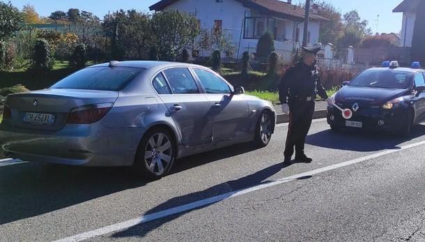 Inseguimento d'auto nell'Olgiatese  Paura in strada, arrestato uno straniero
