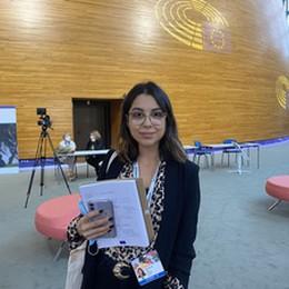 Una studentessa bresciana al Parlamento europeo, qui i giovani più rappresentati