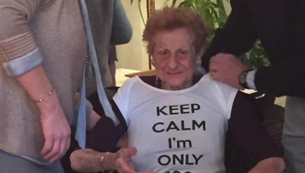 Appiano, vaccinata   la donna di 103 anni