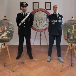 Via Crucis ritrovata a 25 anni dal furto  Era nel caveau di un collezionista