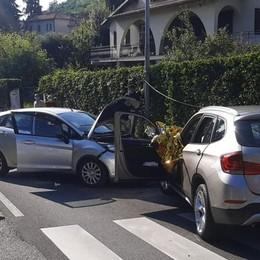 Colverde, frontale tra due auto  Ferite due bimbe di 10 e 12 anni