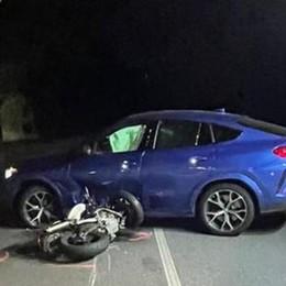 Como: ucciso in moto   da una manovra vietata