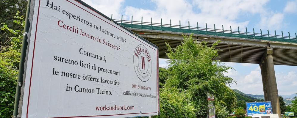 Edilizia in recupero  Ma la Svizzera  ci porta via  la manodopera