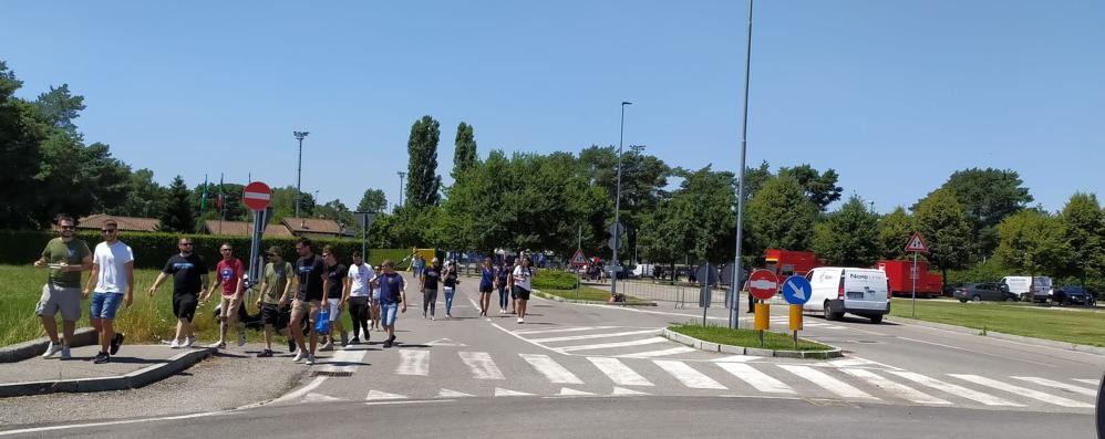 Il parcheggio è riservato ai tifosi  L'Inter sfratta le auto dalla Pinetina