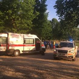 Inverigo, morto il ciclista caduto  Era stato portato in elicottero a Niguarda