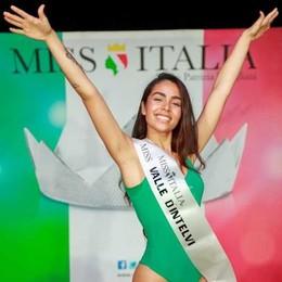Lanzo, il concorso per Miss Italia  Vince Serin di Montano Lucino