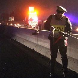 Turate, scontro in autostrada  Muore un ragazzo di 22 anni