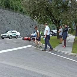 Incidente di Laglio  Morto il motociclista
