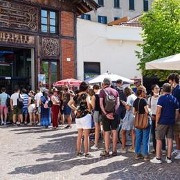 A Como turismo in ripresa  Ma sotto del 50%  rispetto al pre pandemia