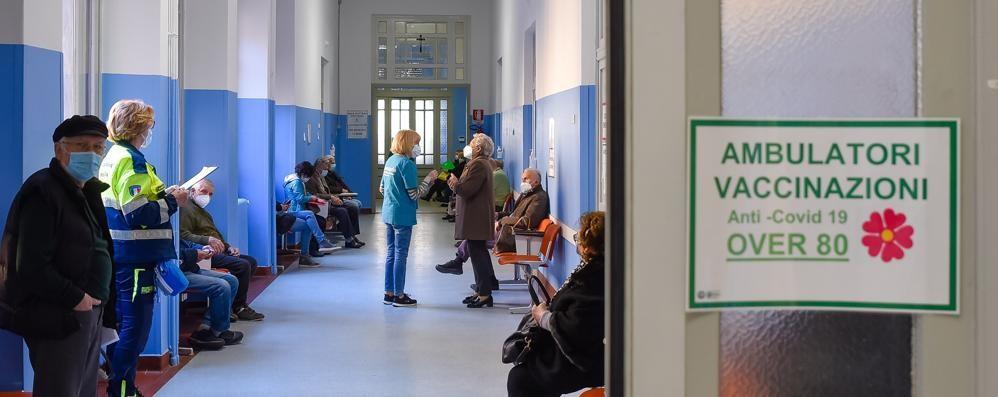Da sabato vaccini in Napoleona Noovo centro al padiglione Negretti