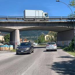 Erba, lavori al ponte di viale Prealpi  Como-Lecco chiusa una settimana
