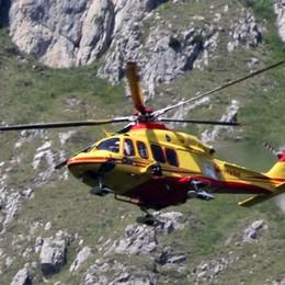 Incidente durante la scalata  Ferita alpinista di 64 anni