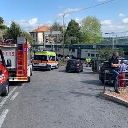 Inverigo, uomo travolto dal treno  Milano-Asso, ripresa la circolazione