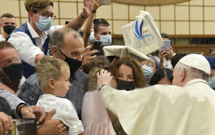 Ronago, dal Papa dopo il Covid  «Mi ha detto di vivere bene»