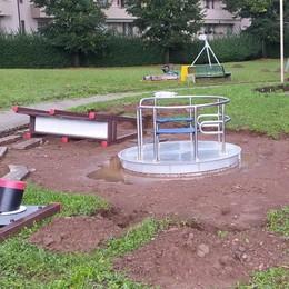 A Olgiate un parco giochi senza barriere  Per il divertimento di tutti i bimbi