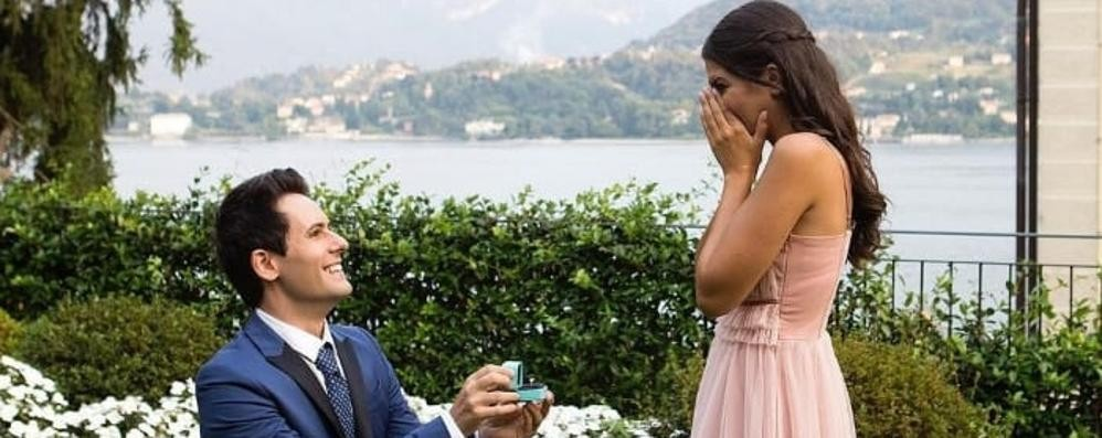«Me contro te», un ciak in riva a Tremezzo   Promessa di matrimonio tra Luì e Sofì
