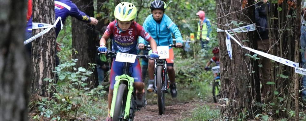 Mountain bike giovanissimi  Successo a Cascina Amata