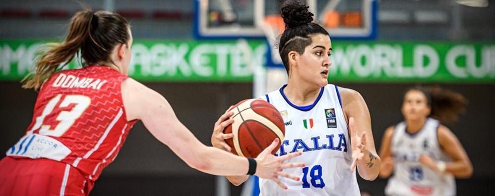 Nasraoui talento del basket «Vorrei giocare all'estero»
