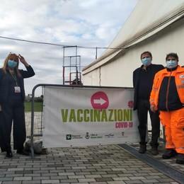 Palatenda, si chiude  a quota 55mila dosi  Ultimo vaccino a Mariano