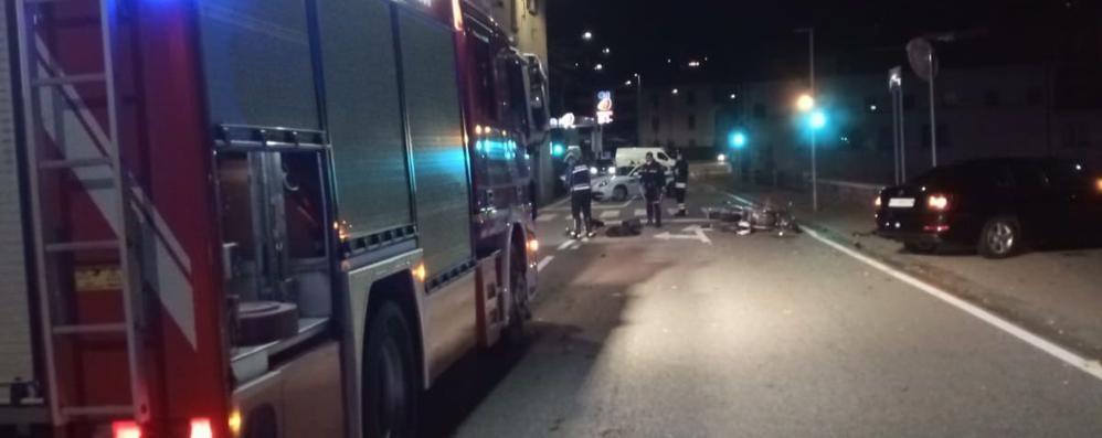 Schianto nella notte a Tavernola Muore motociclista di 30 anni